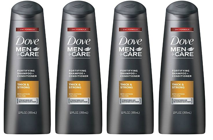 Amazon: 4 Pack Of Dove Men+Care 2-in-1 Thick & Strong Shampoo and Conditioner ONLY $10.58 Shipped