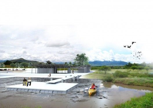 san pedro apostol rural sports center, blaanc borderless architecture