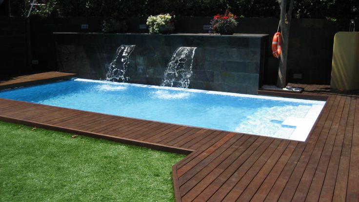 M s de 25 ideas incre bles sobre jardines bonitos en for Piscinas desmontables rectangulares precios