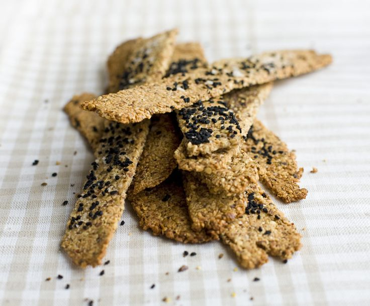 Gluten free nut crackers