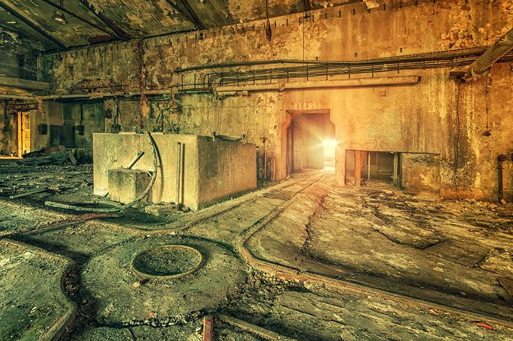 Photograph Never Let Me Go by Pati Makowska on 500px. Abandoned Paper Mill