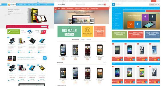 Best Free Opencart Themes - Premium Responsive Opencart Templates