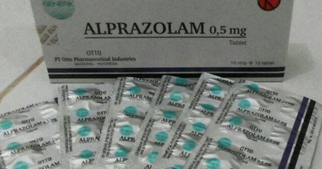 Jual Alprazolam Otto 0,5 mg