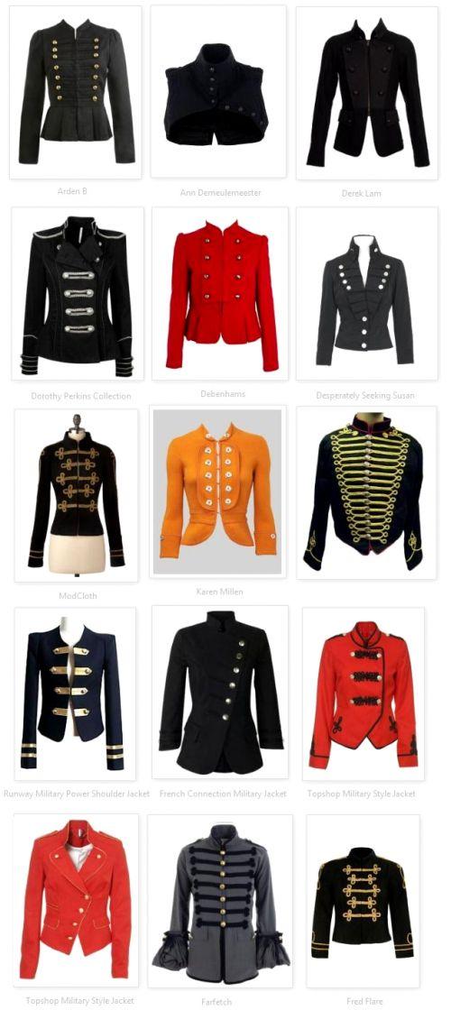 Designer-Military-Jackets