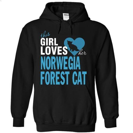 NOrwegian Forest Cat - #boyfriend tee #cheap sweater. GET YOURS => https://www.sunfrog.com/Pets/NOrwegian-Forest-Cat-1828-Black-16016093-Hoodie.html?68278