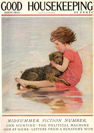 Good housekeeping girl and dog and vintage on pinterest for Good house magazine