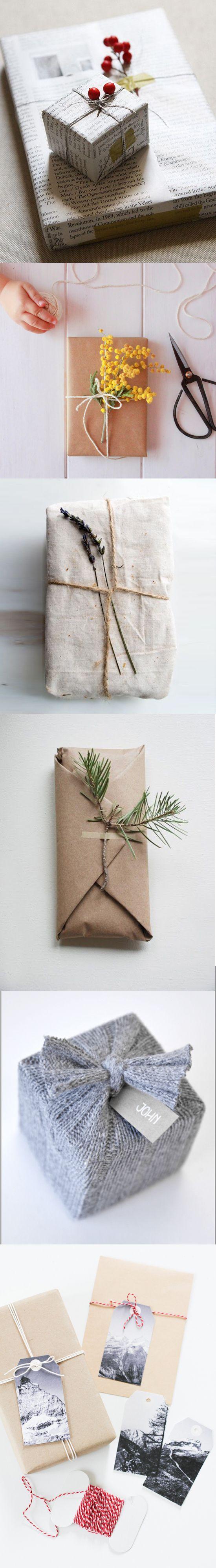 Cómo envolver #regalos de manera #eco para Navidad #xmas #zerowaste https://greenisawayoflife.wordpress.com/2016/12/15/como-envolver-regalos-de-manera-eco/