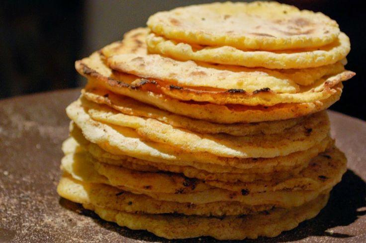 Kukuřično-bramborové tortilly (bez lepku)