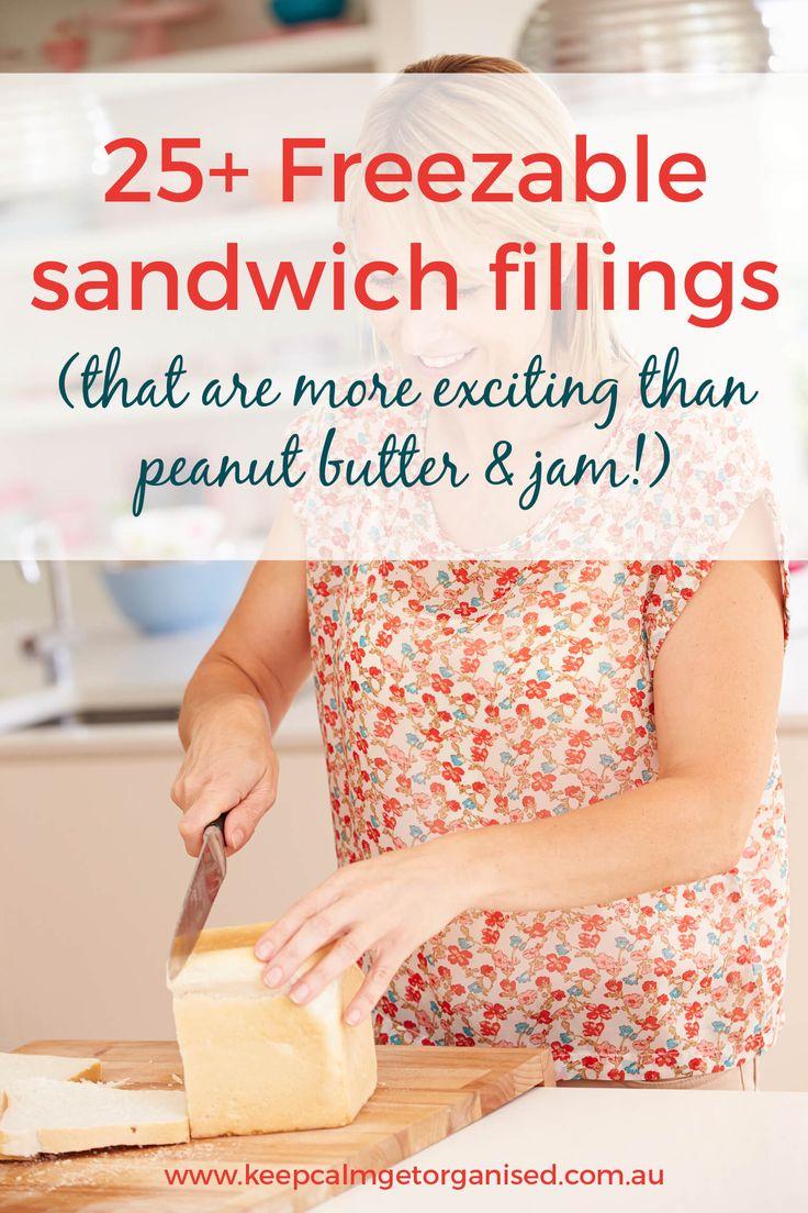 25+ sandwich fillings that freeze well