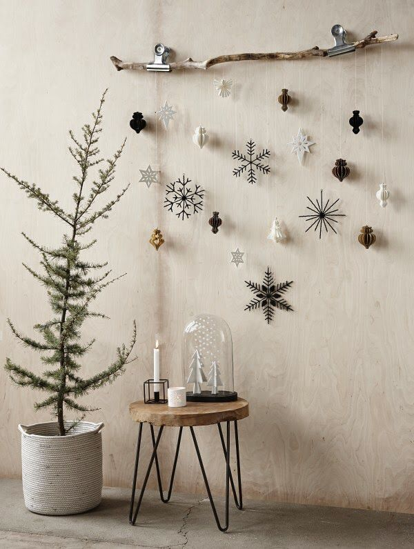 Make the walls of your holiday home stand out! #HolidayDecor
