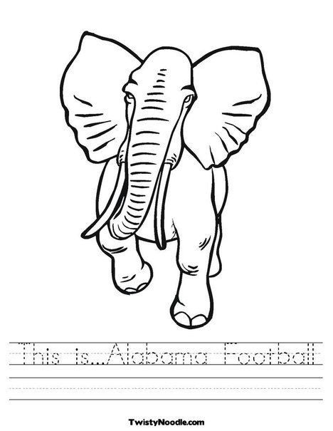 This is ALABAMA Football!  RTR