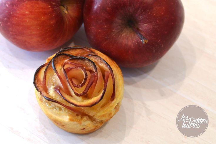 une recette originale de jolies roses feuillet es avec des pommes rouges effet garanti aupr s. Black Bedroom Furniture Sets. Home Design Ideas