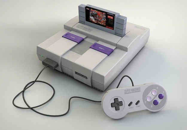 Super Nintendo | 60 brinquedos dos anos 80 e 90 que farão você querer inventar uma máquina do tempo