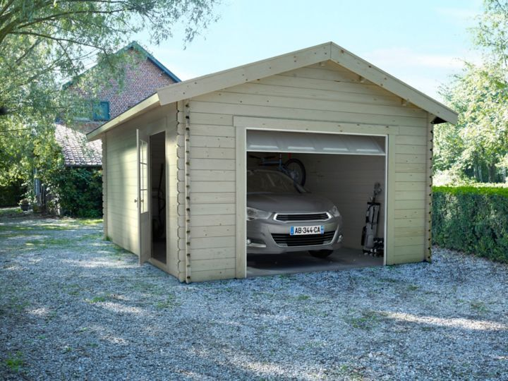 Choisir Un Garage Ou Un Carport Castorama Styles De Toit Garage Carport Adosse