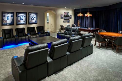 Dallas Cowboys Game Room (WANT!)