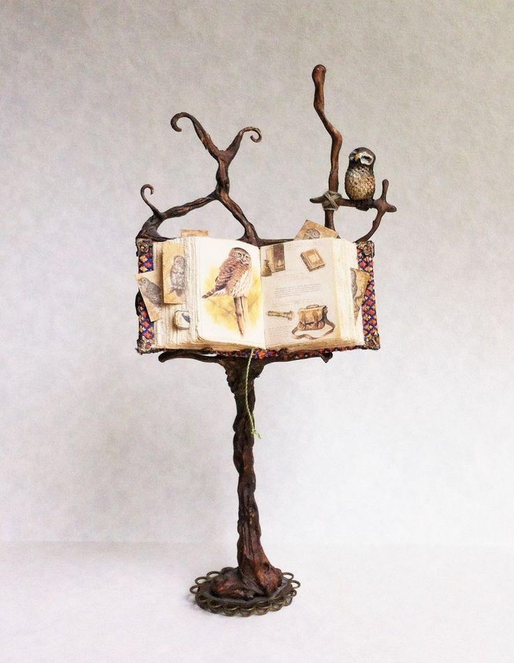 Miniature spell book