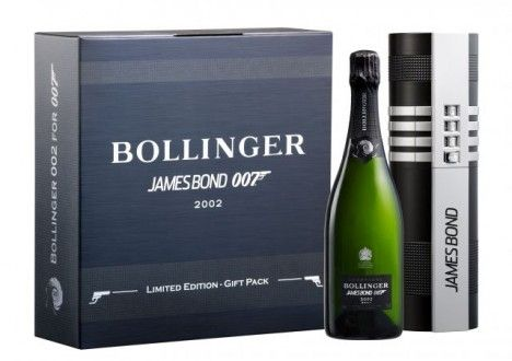 Bollinger champagne pays tribute to James Bond