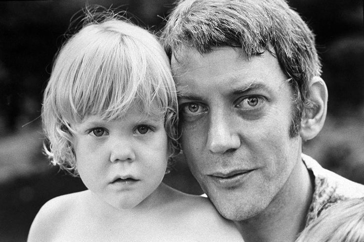 Legendary actor Donald Sutherland was born 82 years ago today on July 17, 1935 in Saint John, Canada. He is pictured here with his son Kiefer Sutherland in 1970. Happy Birthday, Donald! (Co Rentmeester—The LIFE Picture Collection/Getty Images) #LIFElegends #HBD #DonaldSutherland
