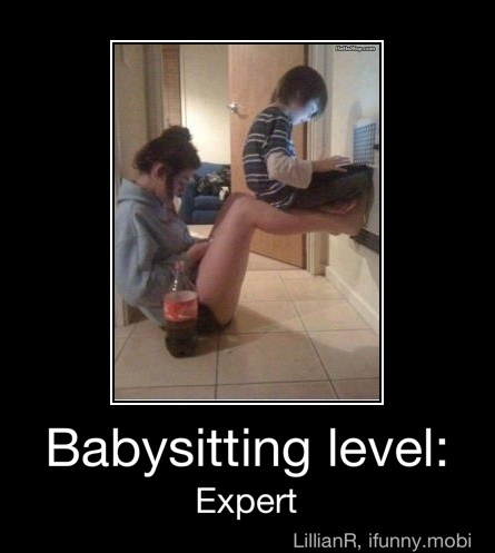 Expert!Like A Boss, Babysitter, Funny Pics, Funny Pictures, Funny Stuff, Legs, Kids, Babysitting, Likeaboss