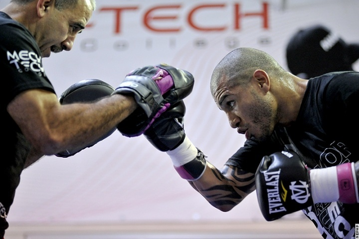 Cotto on Training