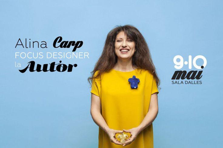 AUTOR 13 : Focus Designer Alina Carp -