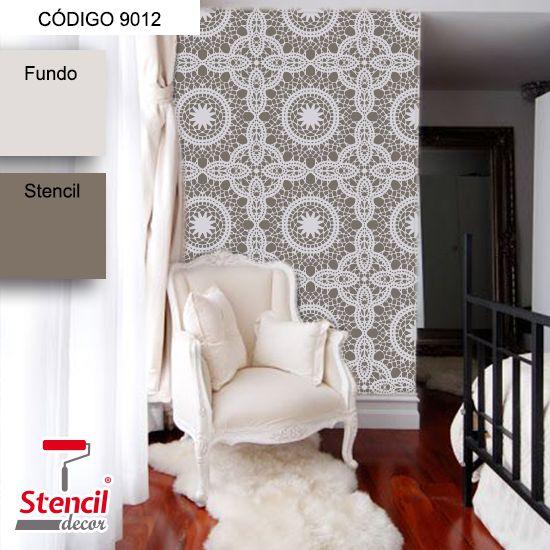 São Luís – Stencil Decorativo (molde para pintura) – Stencil Decor