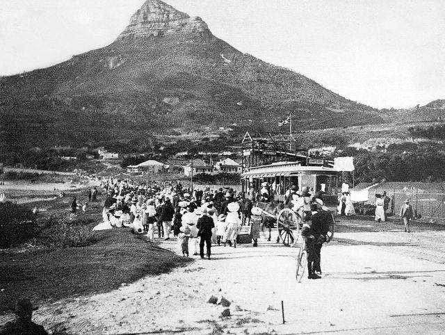 Electric Tram leaving Camps Bay for Cape Town 1902 | Flickr - Photo Sharing!