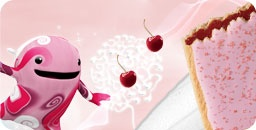 pop tarts commercial characters! strawberry