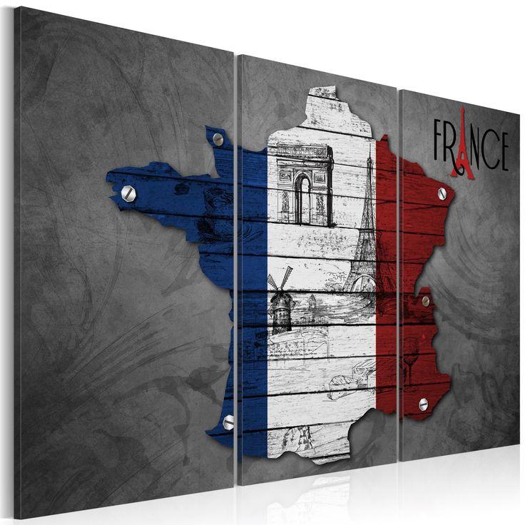 Votre intérieur est à 2 doigts de vous remercier  ---------------------------------------------------------------------  Tableau Triptyque - Symboles de la France à 62,91€  sur https://www.recollection.fr/tableaux-cartes-du-monde/9666-tableau-symboles-de-la-france-triptyque.html  #Cartes du monde #mobilier #deco #Artgeist #recollection #decointerior #interiordesign #design #home  ---------------------------------------------------------------------  Mobilier design et décoration intérieure…