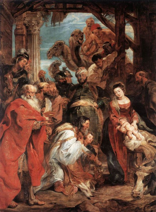 Peter Paul Rubens, The Adoration of the Magi, 1624 Museum Royal Museum of Fine Arts, Antwerp