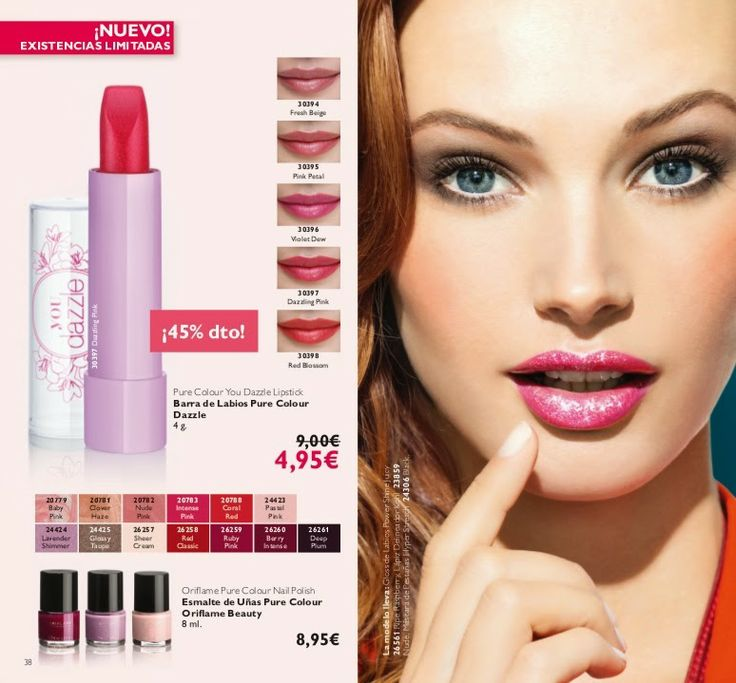 Barra de labios Pure colour Dazzle  4.95€