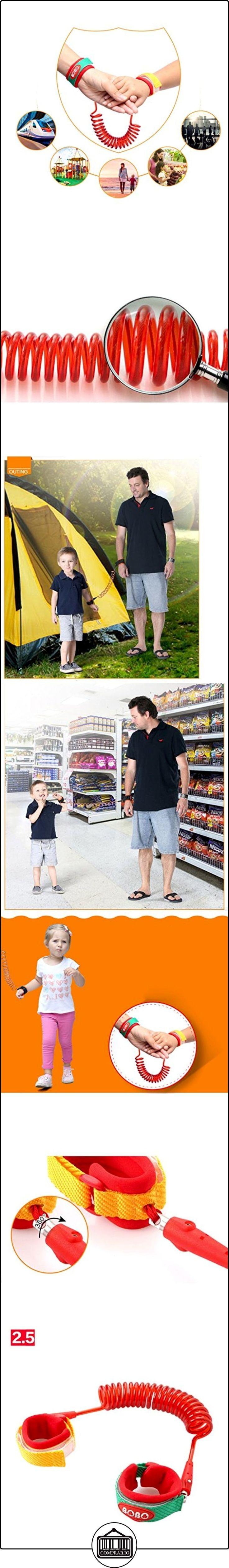 HOME de los niños contra la pérdida de tracción de la cuerda del bebé infantil de los niños contra la pérdida de la mano del anillo Tijeras INFANTILES PERDIDO DRAGON ROJO DEL ENCANTO ( Tamaño : 2.5m )  ✿ Seguridad para tu bebé - (Protege a tus hijos) ✿ ▬► Ver oferta: http://comprar.io/goto/B01M0XPX7Z