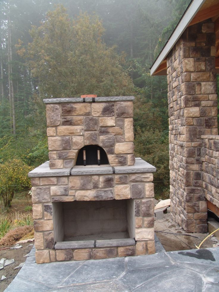 Built In Outdoor Seating Home Design Ideas Pictures: 7 Best Images About BBM: Our Projects- Pizza Ovens On