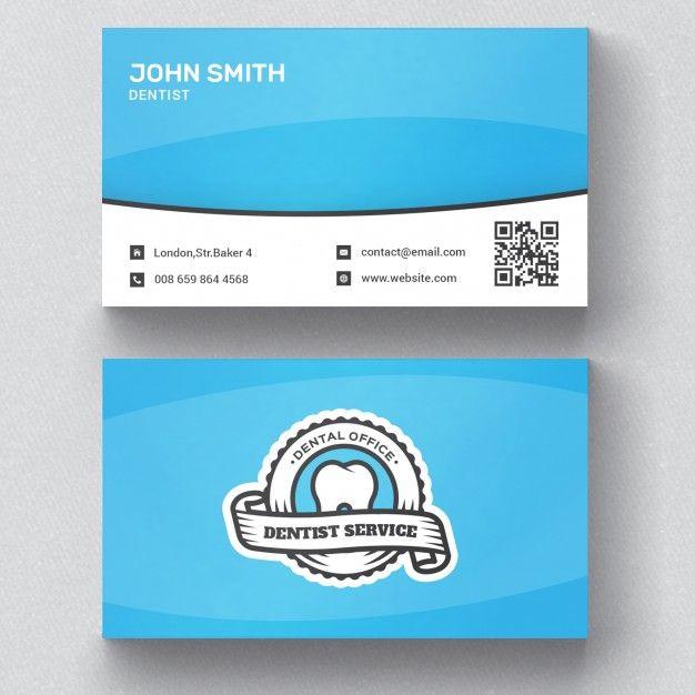 Dentist Business Card Free Psd Free Psd Freepik Freepsd Logo Business Card Dental Business Cards Business Card Mock Up Professional Business Card Design