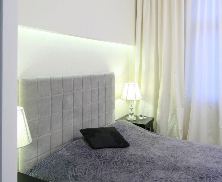 Tapicerowane łóżko z zagłówkiem. Zobacz 15 pomysłów na aranżację sypialni - Galeria - Dobrzemieszkaj.pl