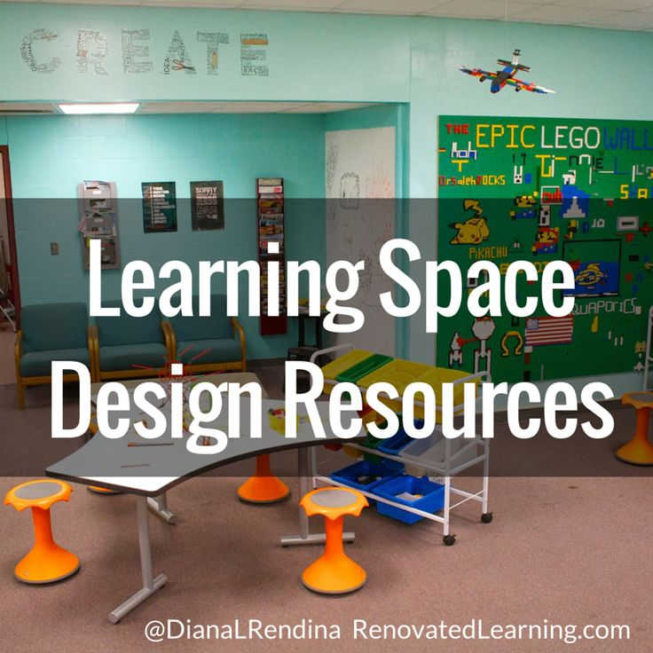 Learning Space Design Resources | RenovatedLearning.com @DianaLRendina.  School Library DesignClassroom ... Part 89