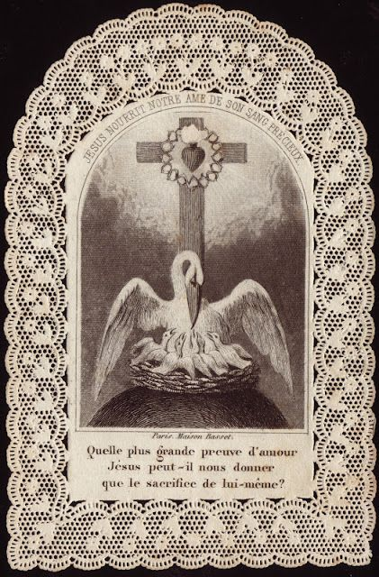 Pelican Holy Card All Things Pelicans Vintage Holy