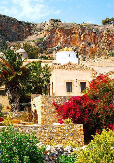 so beautiful!  Monemvasia, Laconia, Greece