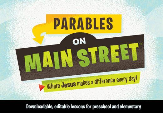 church signage ideas inside | Parables on Main Street
