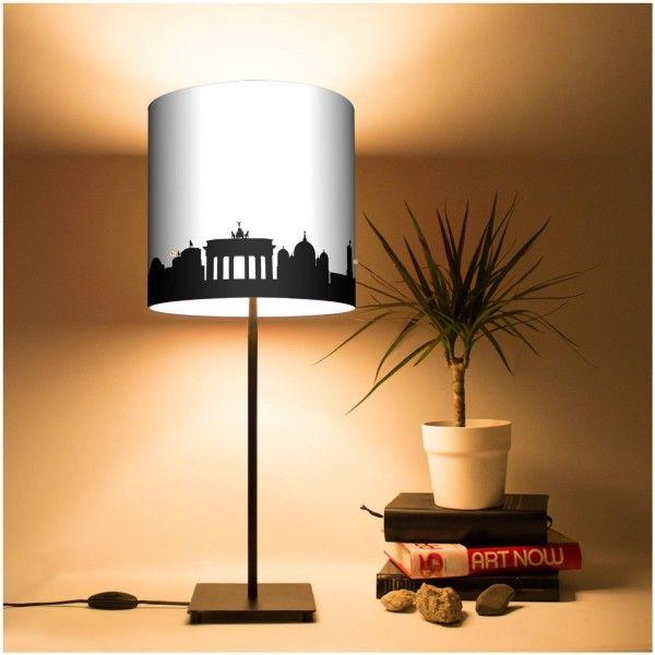 Lampe Berlin silhouette de monuments