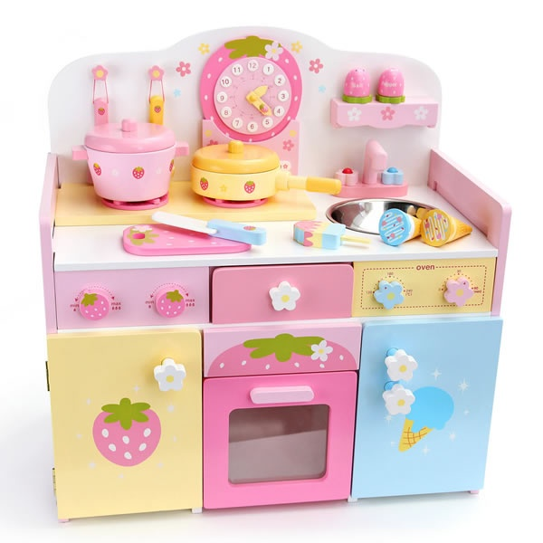 Wood Kitchen Playsets Small Cabinets Kawaii Lil Ones 2 Pinterest Toy Wooden Toys And