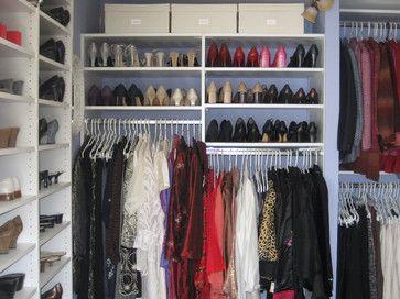 Nice shoe storage!
