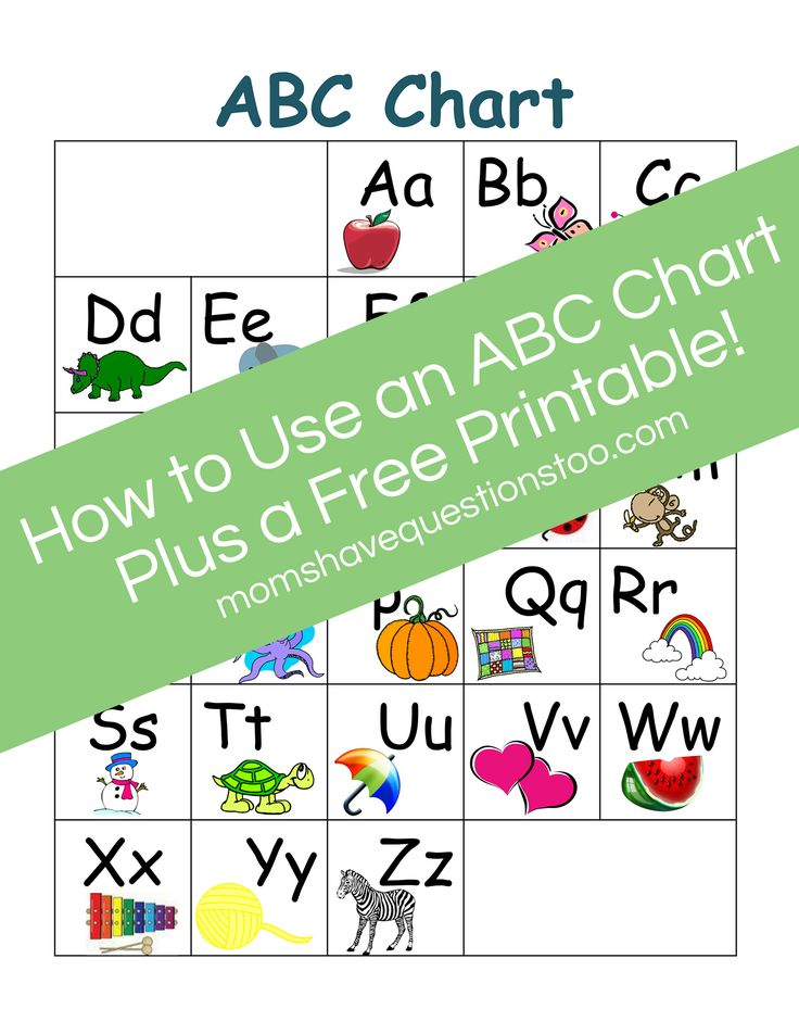 Best Abc Chart Images On   Abc Chart Teaching Ideas