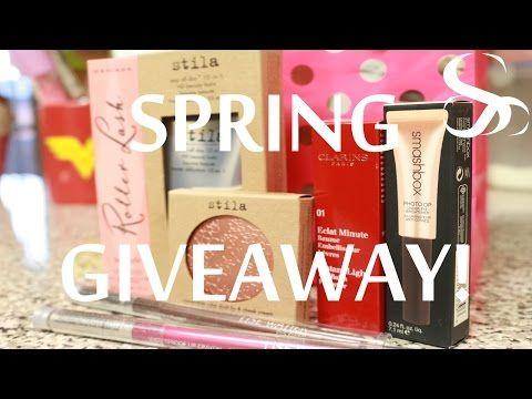 SPRING GIVEAWAY! OPEN! - YouTube