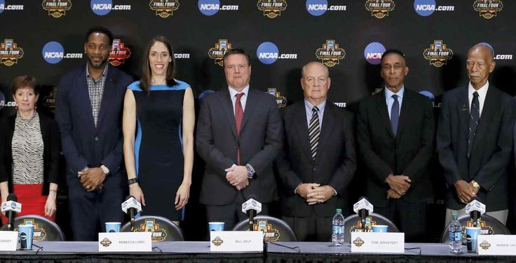 GLENDALE, AZ Former UConn star Rebecca Lobo, two-time NBA scoring champion Tracy McGrady, Kansas coach Bill Self and former Chicago Bulls executive Jerry Krause and are part of this year's Basketball Hall of Fame class.