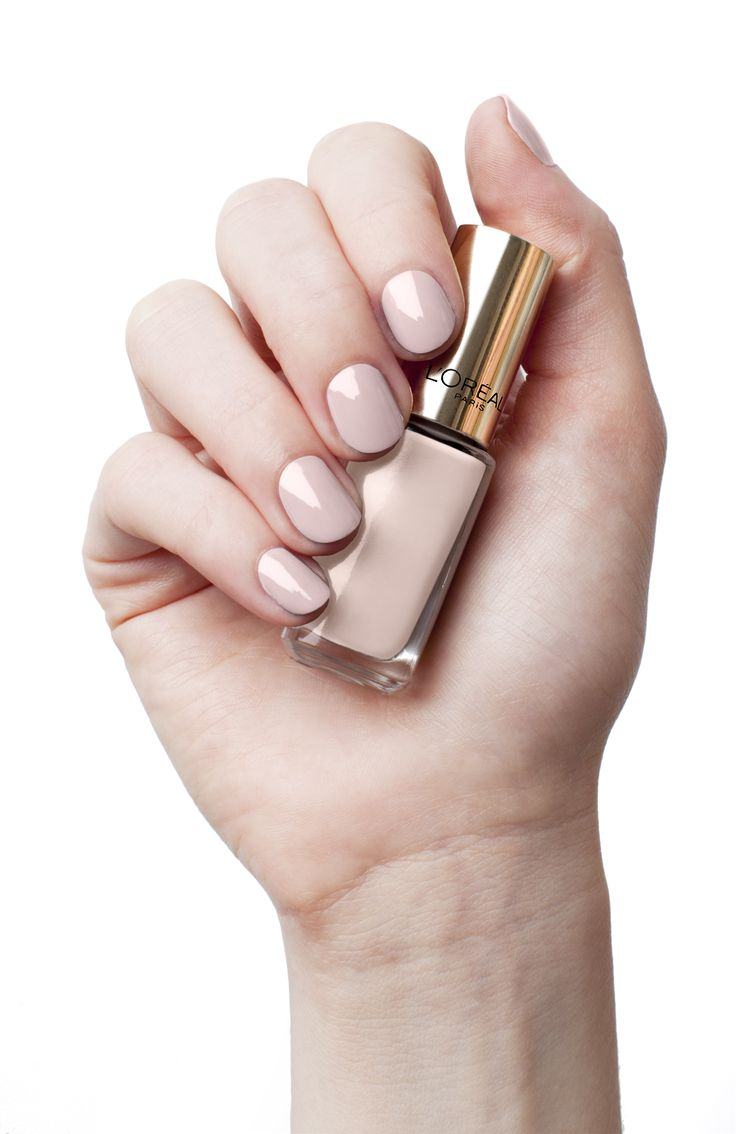 L'Oréal Paris Color Riche Opera Ballerina - perfect for that natural look. http://www.loreal-paris.co.uk/cosmetics/nails/color-riche-nail/opera-ballerina.aspx #nail #nude #pink