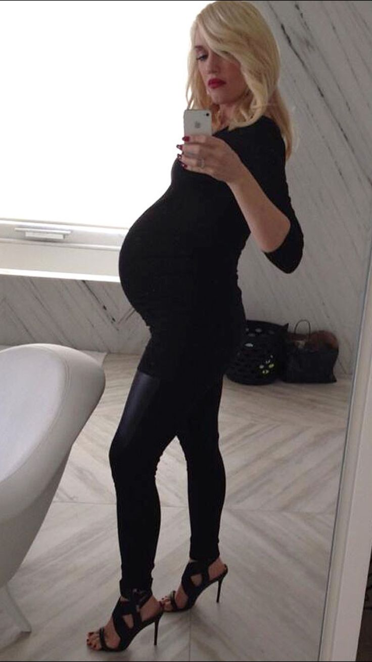Gwen Stefani pregnant with baby boy Rossdale #3- Apollo