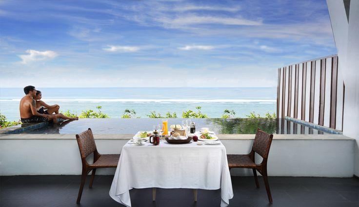 Breakfast Setup on Penthouse Villa