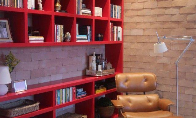 Canto de ler: espaços reservados para a leitura dão charme à casa
