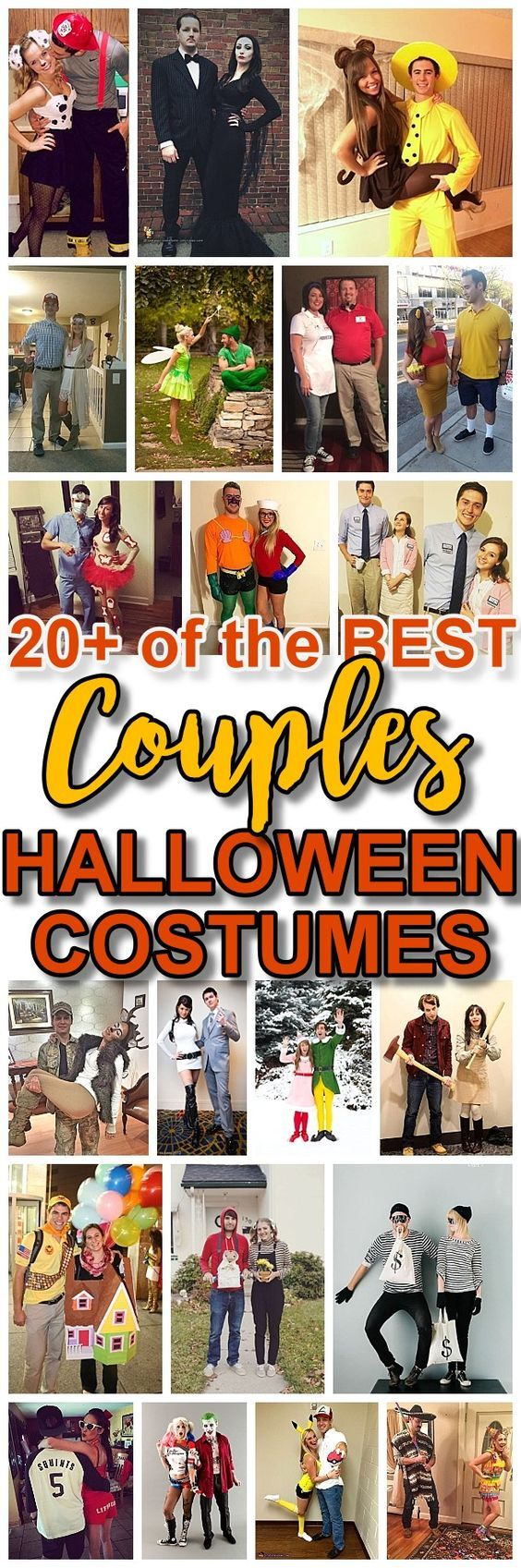 DIY Couples Halloween Costume Ideas - Do it Yourself Homemade FUN ideas that are sure to win Party Costume Contests
